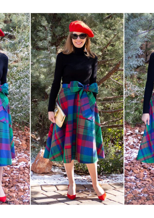 Holiday Fashion: Wearing Presents & Plaid with Panache