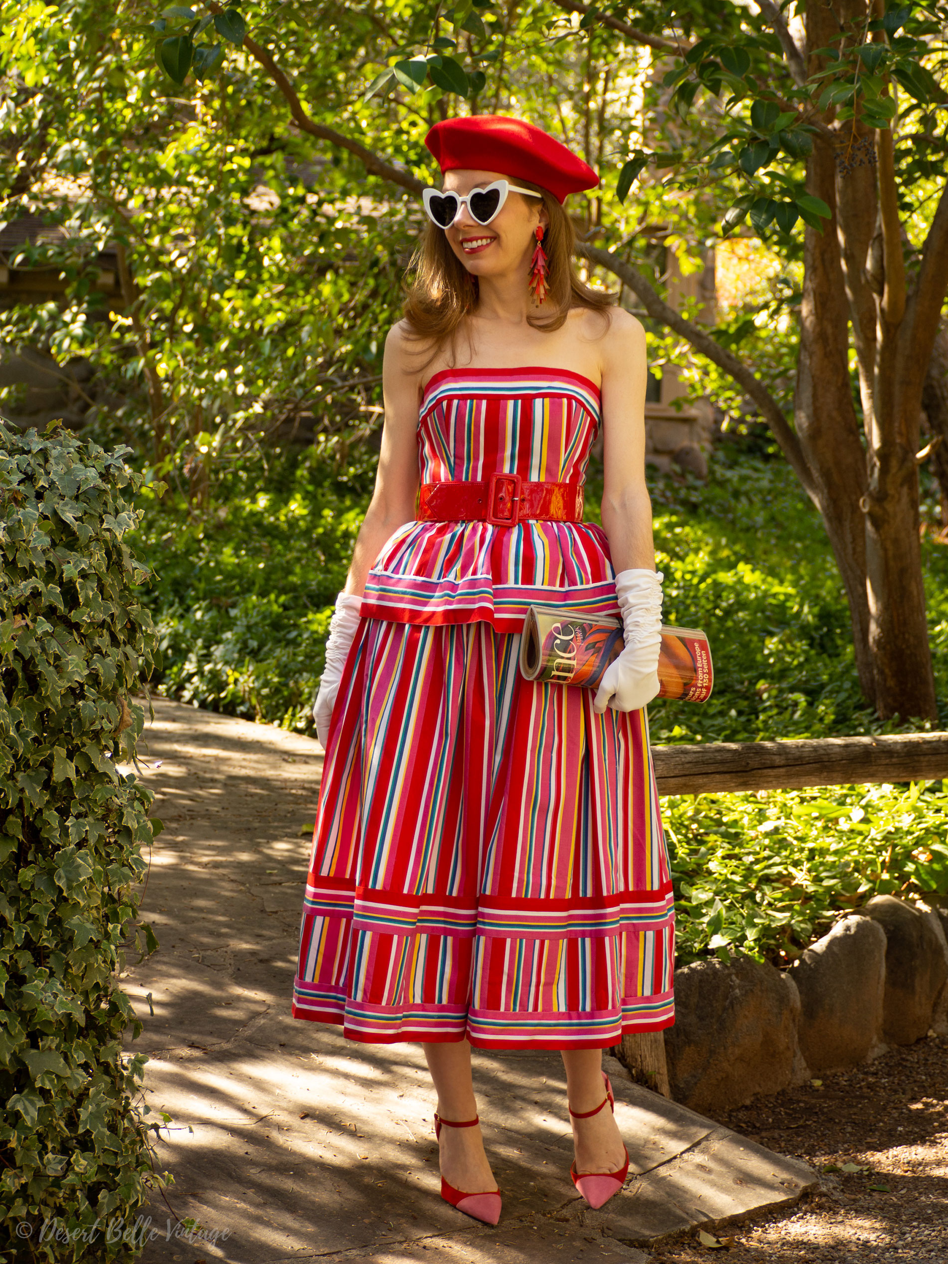 Vintage 1980s Victor Costa Dress